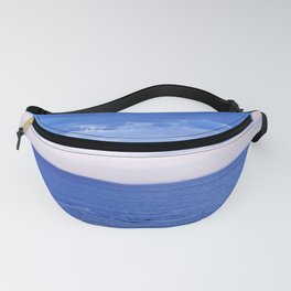 Blue on Blue at the River Mouth Fanny Pack