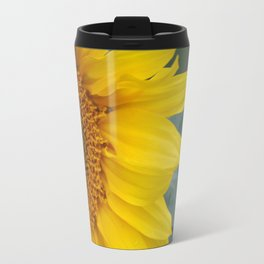 Sunflower Metal Travel Mug