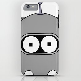 Bender as Pac-man 2 iPhone Case