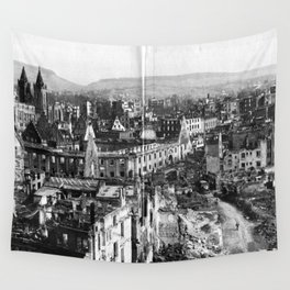 Heilbronn after the end of the Second World War Wall Tapestry