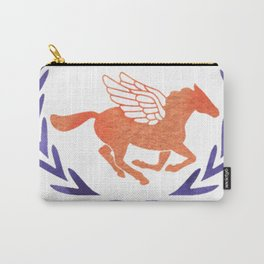 camp half blood orange and purple Carry-All Pouch