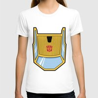 transformers T-shirts featuring Transformers - Sunstreaker by CaptainLaserBeam