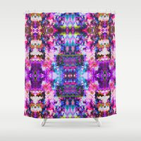 trippy Shower Curtains featuring Trippy by Padi Patt