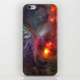 Flaming Seashell 5 iPhone Skin
