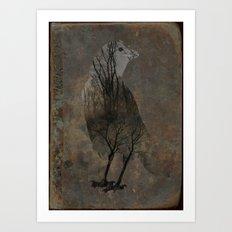 Inside Crow Art Print
