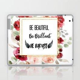 Be Badass Laptop & iPad Skin