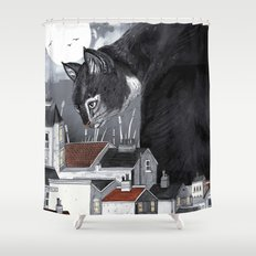 This Way Home Shower Curtain