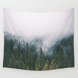 Forest Fog XI Wall Tapestry