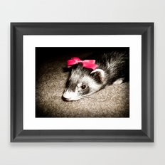 Little Princess Framed Art Print