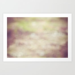 Nature Blur Art Print