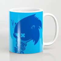 sonic Mugs featuring Sonic by La Manette