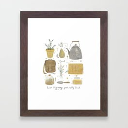 House of the True Framed Art Print