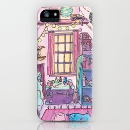 Witchy Bedroom iPhone Case