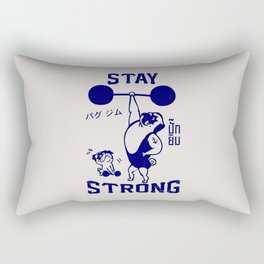 Stay Strong Rectangular Pillow