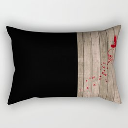 And the birds shall feast... Rectangular Pillow