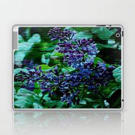 Vintage Textured Painted Lilac Laptop & iPad Skin