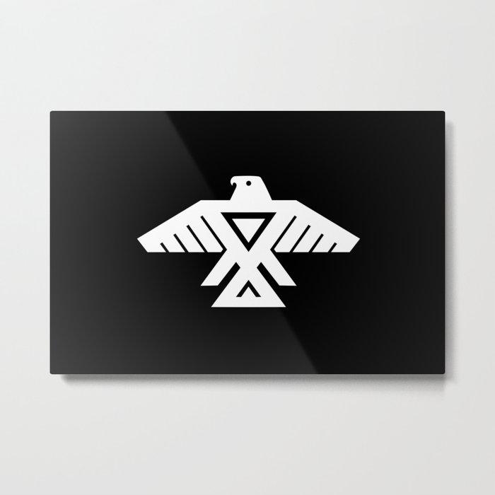 Thunderbird flag - Inverse edition version Metal Print