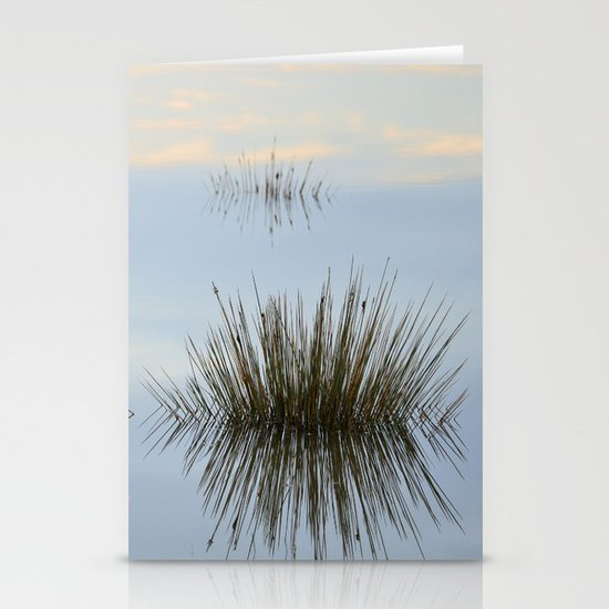 Blue reflections Stationery Cards