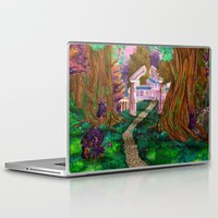 warcraft Laptop & iPad Skins featuring Welcome in Darnassus by Studinano by Shou'