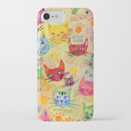 Meowza! iPhone Case