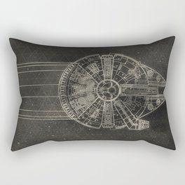 Millennium Falcon Rectangular Pillow