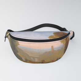 "J.M.W. Turner ""Italian Landscape with Bridge and Tower"" Fanny Pack"
