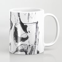 sketch Mugs featuring Sketch by Alexander Babayan