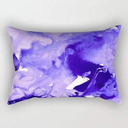inkblot marble 7 Rectangular Pillow