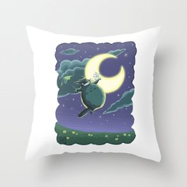 ghibli Throw Pillow