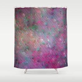Vortex Footprints Shower Curtain