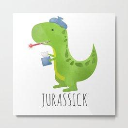 Jurassick Metal Print