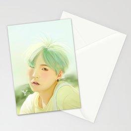 Mint Yoongi Stationery Cards