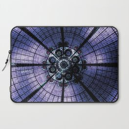 Purple Stained Glass Laptop Sleeve