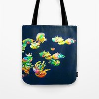 rasta Tote Bags featuring Rasta Jellies by Heidi Fairwood