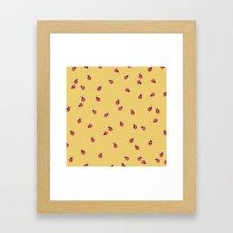 LADYBUGS Framed Art Print