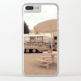Hey Cupcake! Foodtruck Clear iPhone Case