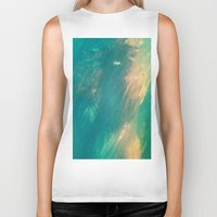 mermaid Biker Tanks featuring Mermaid by Paul Kimble