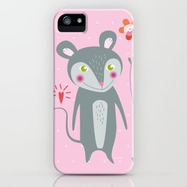Little Mouse iPhone Case