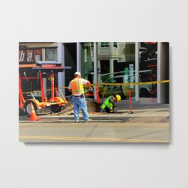 Give Or Take A Foot, Dig? Metal Print