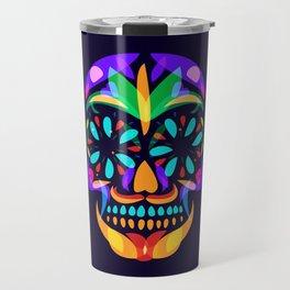 Mexican Skull Travel Mug