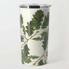 Oak ensemble (Cream  ground) Travel Mug