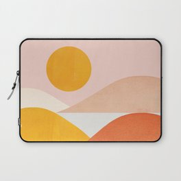 Abstraction_Mountains Laptop Sleeve