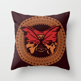 Puppet Butterfly Throw Pillow