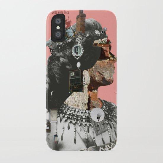 Crazy Woman - Della Mona Rosa iPhone Case