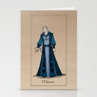 valar morghulis Stationery Cards featuring Manwe by wolfanita