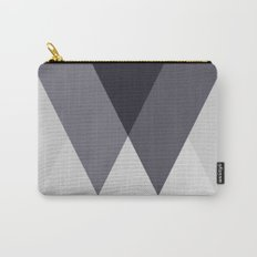 Sawtooth Blue Grey Carry-All Pouch