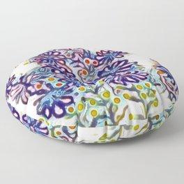 Contemporary Penny Royal Floor Pillow