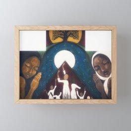 Transcendence: The Power of Women Framed Mini Art Print