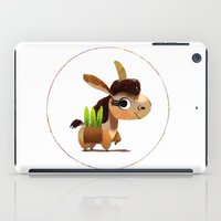 donkey iPad Cases featuring Donkey by Jose Campa