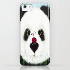 The Panda Bear & His Visitor iPhone 5c Slim Case
